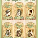 Attic Scrapbook Tags Set Two - Digital Download ONLY