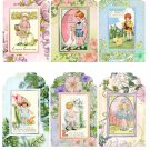 Vintage Easter Children Tags - Digital Download ONLY