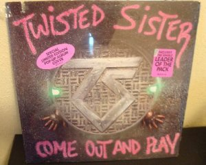 twisted sister come out and play limited pop up cover sealed new 80 39 s hair metal. Black Bedroom Furniture Sets. Home Design Ideas