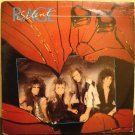 "SILENT RAGE Shattered Hearts - Hair Metal Glam 80s Metal band 12"" record"