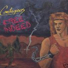 """Contagious Free Indeed Christian METAL 80's 12"""" Vinyl Record"""