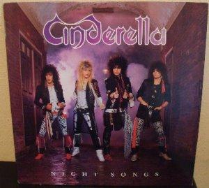 Cinderella Night Songs Hair Glam Metal 80 S 12 Quot Vinyl Record