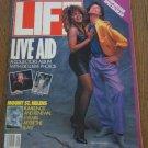 LIFE Magazine Mick Jagger Tina Turner -Madonna 1985 LIVE AID
