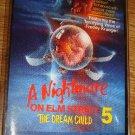 A Nightmare on Elm Street 5 The Dream Child Horror Movie Soundtrack cassette Freddy Krueger