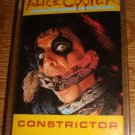 Alice Cooper -Constrictor Audio Cassette Tape FREE SHIPPING