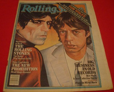 1980 Rolling Stones Mick Jagger Big Business In Old
