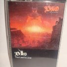 DIO-The Last In Line Audio Cassette Tape  80's METAL FREE SHIPPING