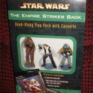 Star Wars Read-Along Play Pack with Cassette and figures Sealed Walt Disney