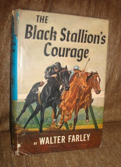 The Black Stallion's Courage by Walter Farley Hardcover  1956