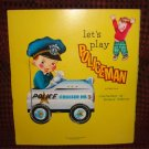 Let's Play Policeman Adorable Childrens Illustrated Story