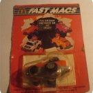 Vintage Mc Donalds Fast Macs Hamburgler Roadster Pull Back Toy Car 1985