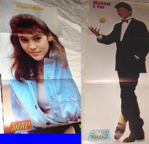 Alyssa milano 80s poster
