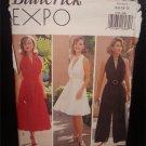 Butterick EXPO Misses Lined Evening Dress ,Jumpsuit &Belt Pattern  6790 Uncut