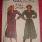 Simplicity 8221 Misses Dress Adjustable for Miss Petite size 8-14 UNCUT 1987