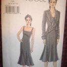 VOGUE Pattern V 8283 Mises Jacket and Dress Out of Print OOP Uncut