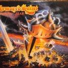 "Armored Saint -Raising Fear Prmo Gold stmp SPEED METAL 12"" Vinyl Record"