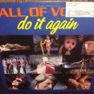 "Wall of Voodoo-Do It Again  DJ 12"" Vinyl record  gold stmp Promo Dub Mix ,extended"