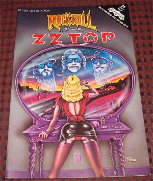 ZZ Top / Mojo Nixon  Rock N Roll 1991 Revolutionary Comics OOP comic book