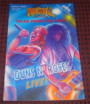 Guns N Roses Live! Tales from the Tour Rock N Roll Comic  First Printing