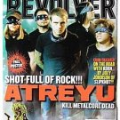 Revolver Magazine -Atreyu Cover w/ poster,Behemoth,As I Lay Dying,METAL