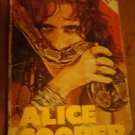 Alice Cooper Circus Magazine Book  By Steve Demorest RARE Shock Rock Paperback