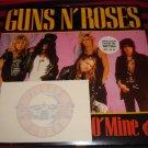 "Guns N' Roses- Sweet Child O' Mine 7"" Single Limited Edition w/Guns Tattoo"
