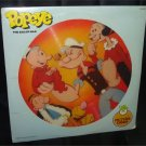 """POPEYE The Sailor Man Peter Pan 12"""" Picture Disc Record 1982 SEALED RETRO RARE FREE SHIPPING"""
