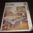McCalls Sewing Pattern Puff Quilt and More Complete Bed Decor Twin-Double-Queen-King