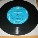 "Vintage  Bing Crosby Personal Message Flexi Disc 7"" Record"