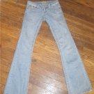"""Paris Blues Size 3 Long Blue Jeans 34"""" inseam (Used)"""