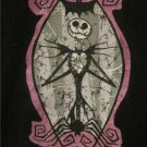 Nightmare Before Christmas JACK Skellington Shirt XS Junior Goth Tim Burton