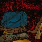 KAD Mens Graphic Shirt size Large  Graffiti Tagger -Spray Paint UNIQUE