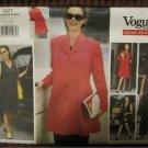 Vogue Maternity Career Wardrobe Pattern 1927: Jacket Vest Jumper Dress Tunic Shorts Pants