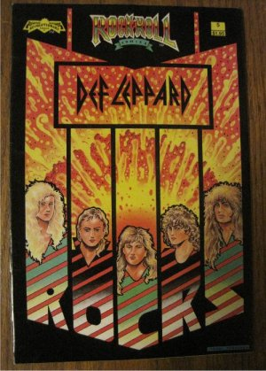 Rock N Roll Comic Def Leppard/Revolut�ionary Comics