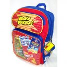 Wacky Packages School Backpack - Funny Spoof Graphics RARE -NEW RETRO 80's FREE SHIPPING