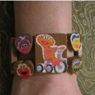 Sesame Street One of a Kind HandMade Stretch Bracelet Teen Trendy