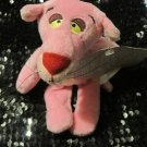 """7"""" Pink Panther Plush Beanie with Tag"""