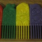 Mc Donald's Character Connecting Comb RAINBOW*Fun Bright Colors*FREE SHIPPING
