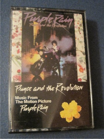 Prince and the Revolution Music from the Motion Picture Purple Rain 80's