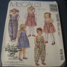 Mc Call's 5549 Sewing Pattern Child's Jumpsuit and Jumper 4,5,6