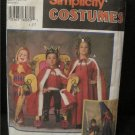 Medieval Costume Pattern,Child / Childrens  Size  S,M,L  Simplicity 9236