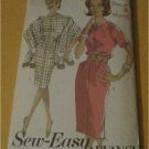 Vintage Advance Sewing Pattern 2968  Junior Misses Dress and Stole Size 14