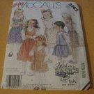 McCalls 3262 Vintage Sewing Pattern 80s Girls Jumper Size 4 - 5 - 6