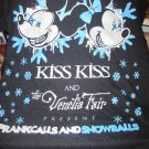 Rare Kiss Kiss and the Venetia Fair Prankcalls and Snowballs Shirt