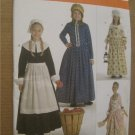 SIMPLICITY Pattern 3725 Girls Americana Costumes Prairie Quaker Colonial Dress 3, 4, 5 ,6 Uncut
