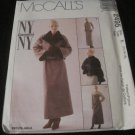 McCalls PATTERN 2495 Ladies Lined Jacket & Dress 14,16,18