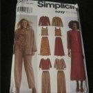 Simplicity 5463 Womans Pants, Skirt, Tank, Top & Jacket Sewing Pattern Size 20-28w Uncut