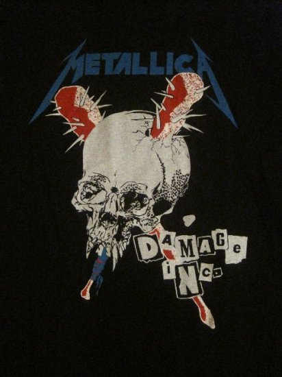 Size Xl Heavy Metal Rock Shirt New