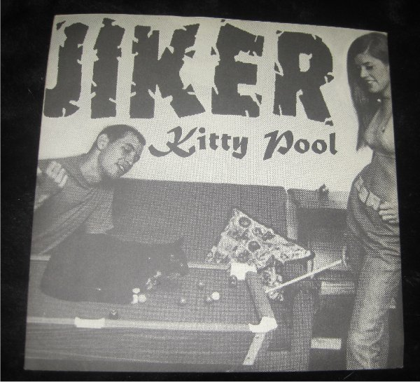 "JIKER Kitty Pool 7"" 45 rpm Vinyl Record  GREEN VINYL"
