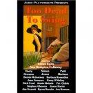 Too Dead To Swing  [Audio Cassette]noir mystery /40's  Swing Sealed NEW-Ann Hampton Callaway
